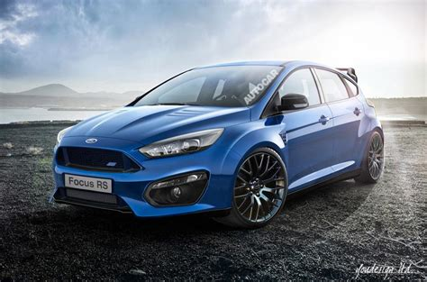 New Ford Focus Rs by Development Underway On New 330bhp Ford Focus Rs