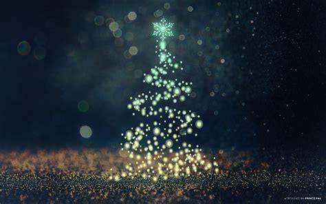wallpaper christmas tree sparkles bokeh cgi hd celebrations christmas