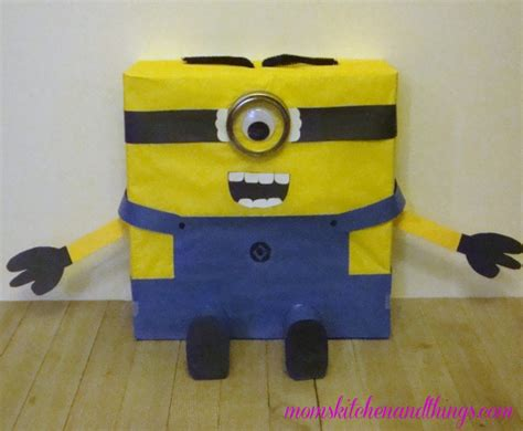 how to make a minion valentines day box minion s day box crafty morning