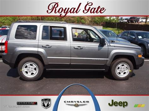 gray jeep patriot 2012 mineral gray metallic jeep patriot sport 62663607