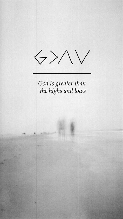 god is greater than the highs and lows tattoo lockscreens
