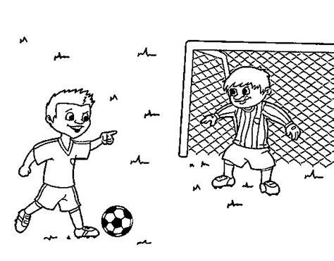 Imagenes Para Pintar Futbol | dibujo de portero de f 250 tbol para colorear dibujos net