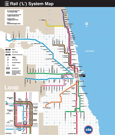 chicago metro map design around the world metro maps webdesigner depot