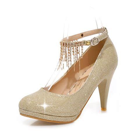 gold rhinestone high heels gold high heels with rhinestones 28 images gold