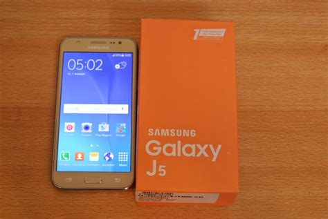 Harga Samsung J5 Unboxing samsung galaxy j5 gold unboxing hd