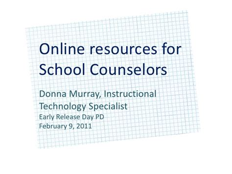 school counselor resources resources for school counselors