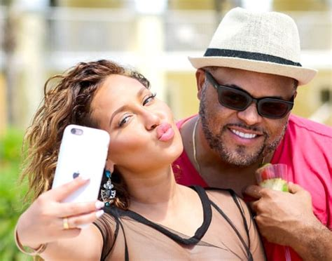 adrienne bailon is dating israel houghton: details, pics