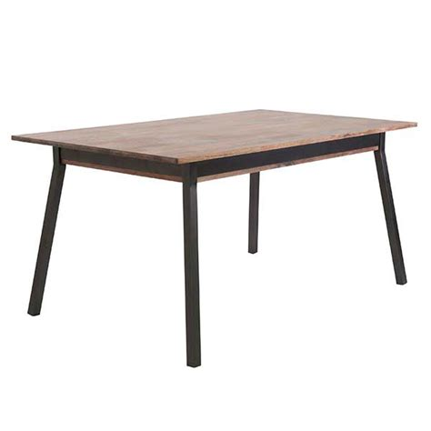 solid walnut top dining table marcel transitional