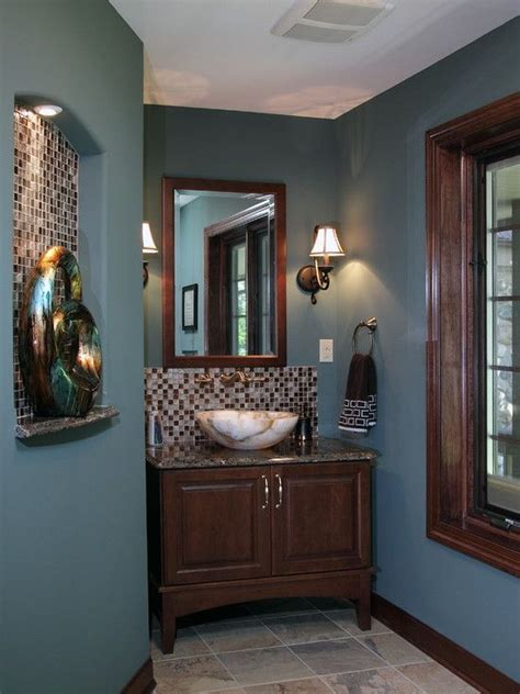 17 best ideas about powder room paint on bathroom colors guest bathroom colors and