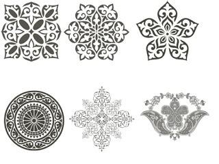 islamic pattern brush for photoshop مجموعة من أفضل فرش الفوتوشوب photoshop brush لاند تك