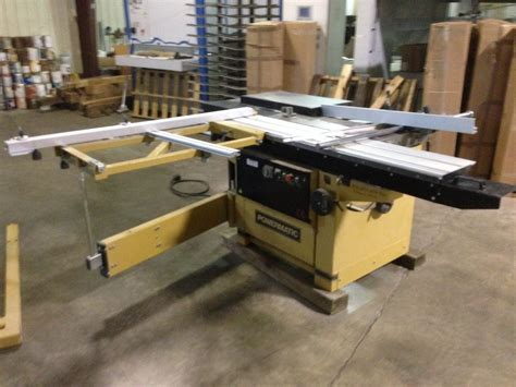 Sliding Table Saw For Sale powermatic hps67 67 quot sliding table saw machine for sale