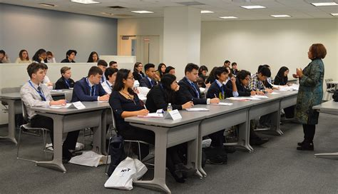 Nyit Mba Program by Hospitality Majors Take High School Students Their