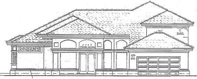 Two Story Courtyard House Plan 6382hd Architectural Architectural Designs