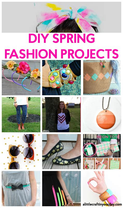 most popular diy projects 2016 diy spring fashion projects a little craft in your day