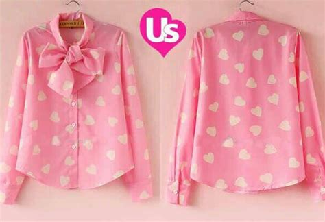 baju kemeja wanita lengan panjang pink cantik terbaru murah