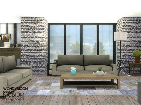 sims 2 living room set wondymoon s niobium living