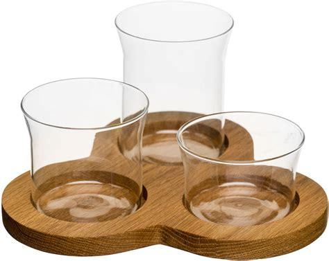 Oval Set 1 sagaform oval oak servier set 1 set interismo onlineshop