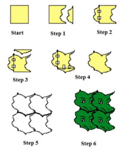 how to make a tessellation template with an index card tessellations math engaged
