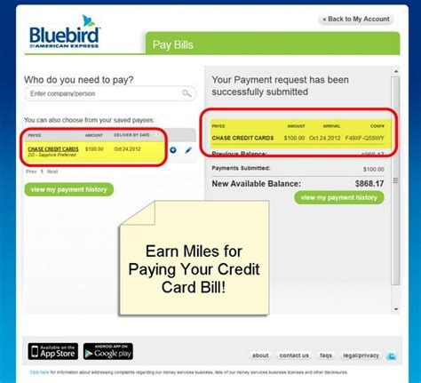 can you make mortgage payment with credit card american express bluebird million mile secrets