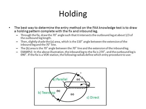 holding pattern test instrument ground training module 6 ppt download
