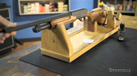 brownells mountain meadow woodworks gun cradle youtube