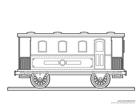 train car coloring page art crafts for kids