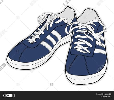 sport shoes vector vector illustration sport shoes vector photo bigstock