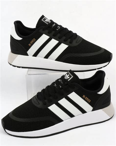 black and white patterned adidas trainers adidas n 5923 trainers black white iniki runner 70s shoes