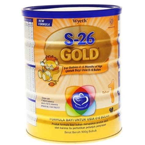 S26 Gold Langkah 1 S26 Promil Gold Tahap 1 900g Elevenia