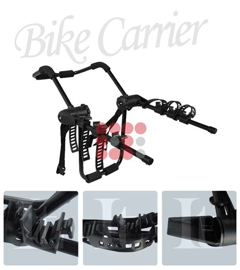 Bike Rack Attachment by 01 11 Toyota Rear Trunk Bicycle Mount 3 Bike Rack