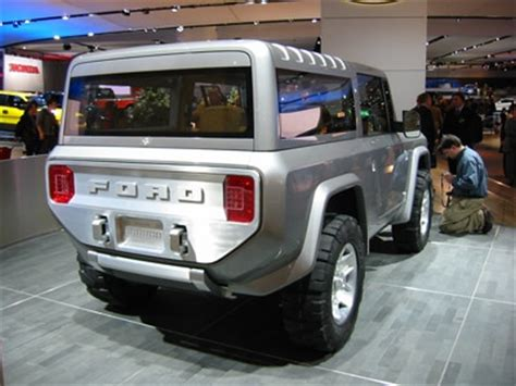 sort of new ford bronco to co star in rampage with the