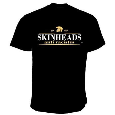 T Shirt Skinhead skinhead anti racistes t shirt 7 80 redstar73 records