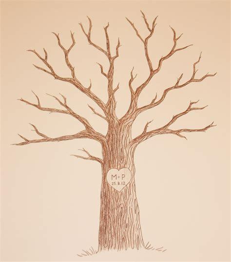 Kostenlose Vorlage Baum die besten 10 baum zeichnung ideen auf b 228 ume