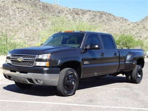 how does cars work 2005 chevrolet silverado 3500 parental controls purchase used 2005 chevy 3500 duramax 6 6 turbo diesel 4x4 dually crew cab 1 owner in phoenix