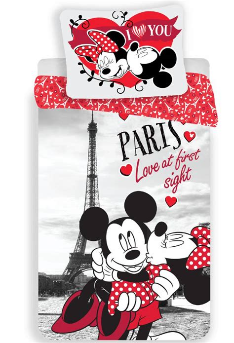 200x220 Decke by Disney Minnie Mouse Quilt Cover Single