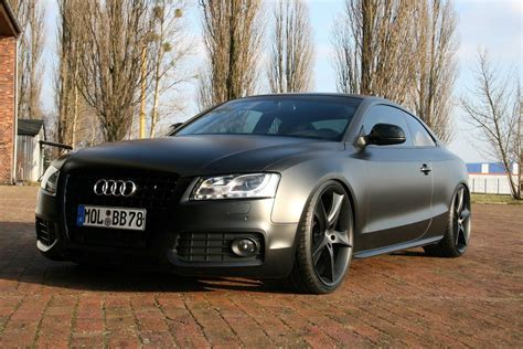 matte black avus performance audi a5 coupe matte black img 2 it s