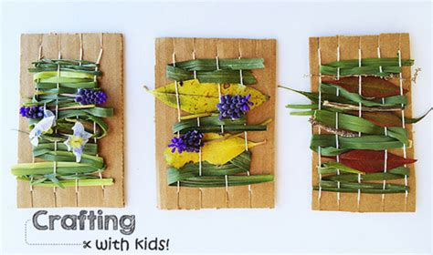 crafting with crafting with nature weaving rocket city