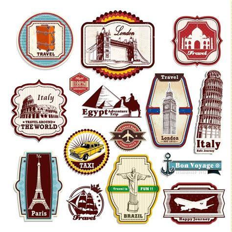 Koffer Mit Sticker by Retro Weinlese Reise Koffer Aufkleber Von 15 Luggage