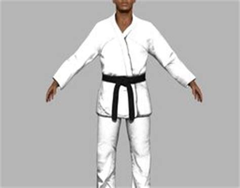 Kaos Karate Shotokan New Model 7 karate 3d models 3d karate files cgtrader