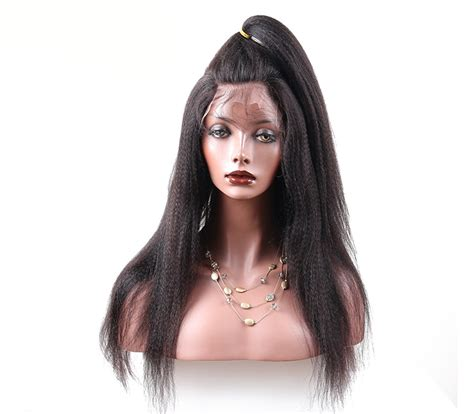 Light Yaki Hair by Lace Wigs 200 Density Human