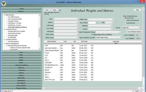 Cattle Inventory Spreadsheet by Cattle Inventory Spreadsheet Laobingkaisuo
