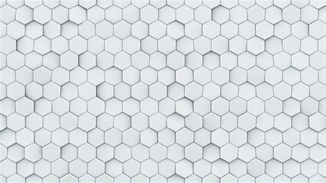 white hexagon pattern white hexagon pattern seamless loop abstract 3d animation