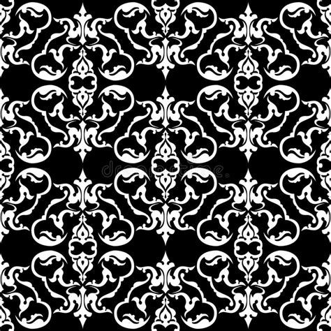 2 color pattern vector two color floral pattern stock vector illustration of