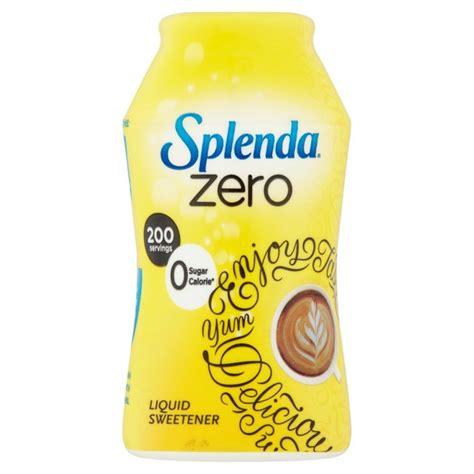 splenda zero liquid sweetener 50ml from ocado
