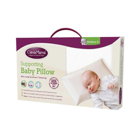 when should a child a pillow clevamama memory foam baby pillow baby city