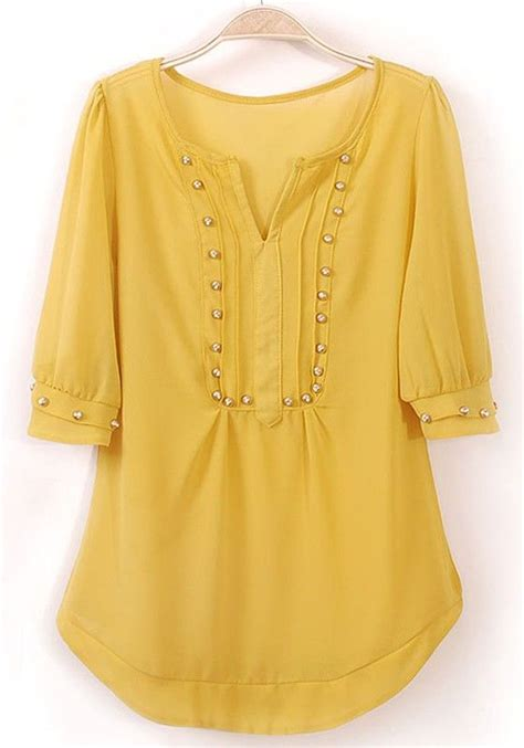 Cameron Knot Blouse 346 best fashion for 50 images on