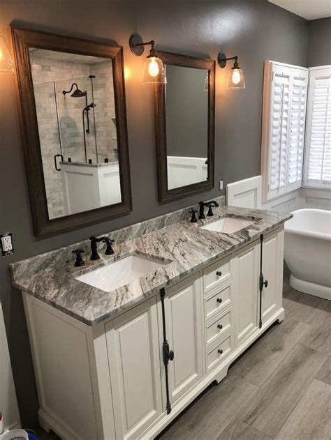 bathroom remodeling ideas on a budget 2018 most popular small bathroom remodel ideas on a budget in 2018 this beautiful look was created