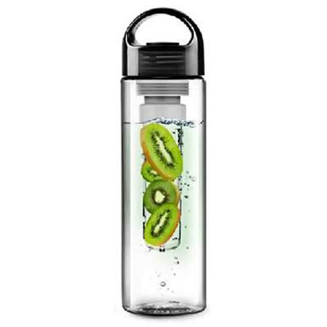 Tritan Botol Minum Infuser 2 botol minum infuser tritan bpa free 700ml black