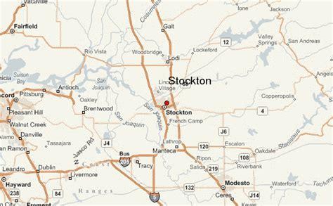 california map stockton stockton location guide