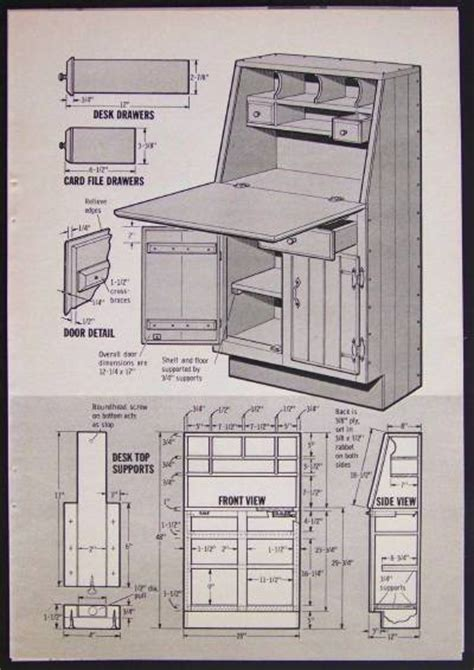 home office desk plans how to build plans kitchen desk home office